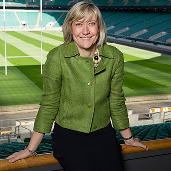 © Andrew Fosker / Seconds Left Images 2013 - Debbie Jevans - Chief Executive of England Rugby 2015 (ER 2015) - The Rugby World Cup 2015 Organising Body - Twickenham Stadium - 23/04/2013 - UK - All rights reserved